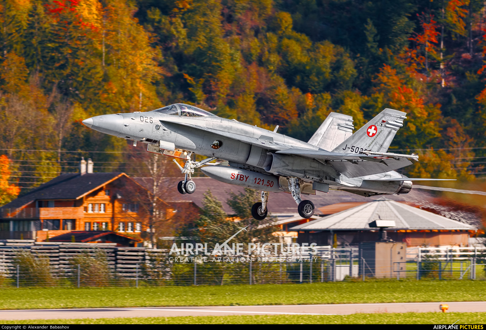Switzerland - Air Force McDonnell Douglas F/A-18C Hornet J-5026