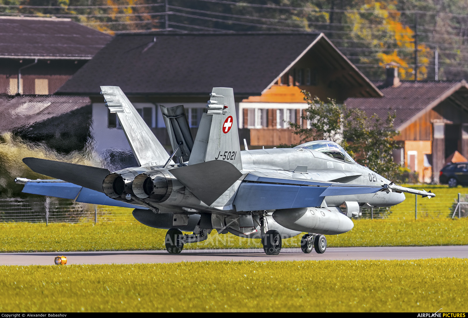Switzerland - Air Force McDonnell Douglas F/A-18C Hornet J-5021