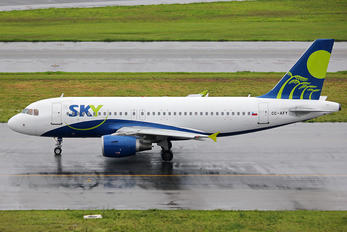 CC-AFY - Sky Airlines (Chile) Airbus A319