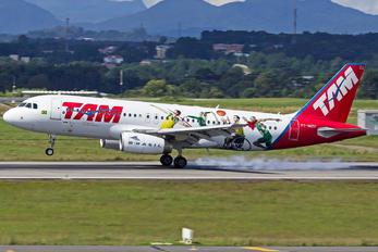 PT-MZU - TAM Airbus A320