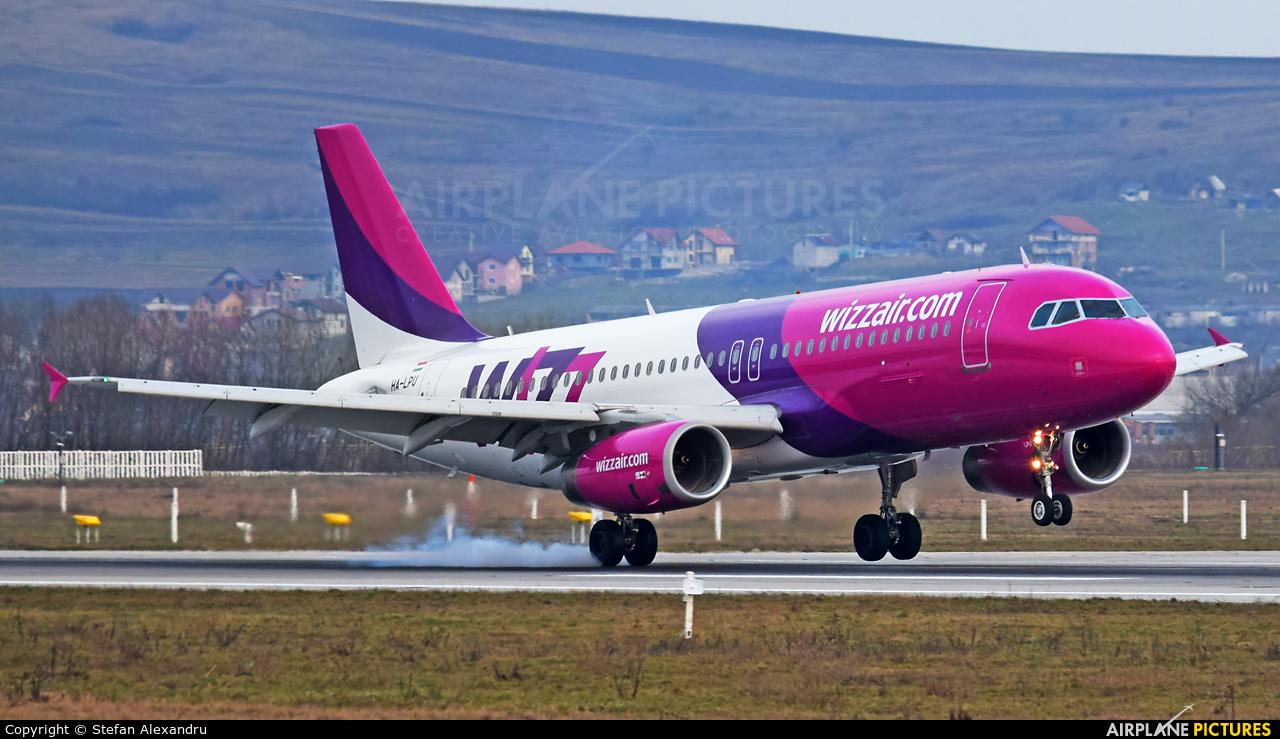 Wizz Air HA-LPU aircraft at Cluj Napoca - Someseni