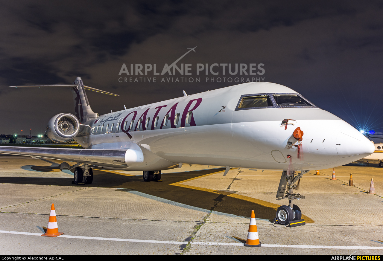 Qatar Amiri Flight A7-AAM aircraft at Paris - Le Bourget