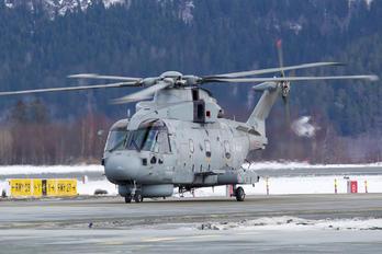 ZH837 - Royal Navy Agusta Westland AW101 111 Merlin HM.1