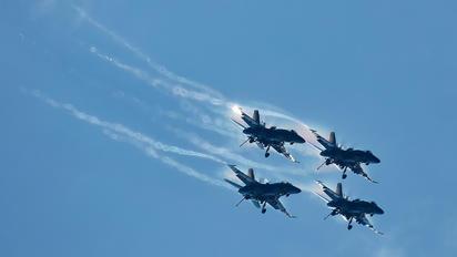 - - USA - Navy : Blue Angels McDonnell Douglas F-18C Hornet