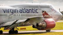 G-VLIP - Virgin Atlantic Boeing 747-400 aircraft