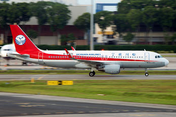 B-8325 - Sichuan Airlines  Airbus A321