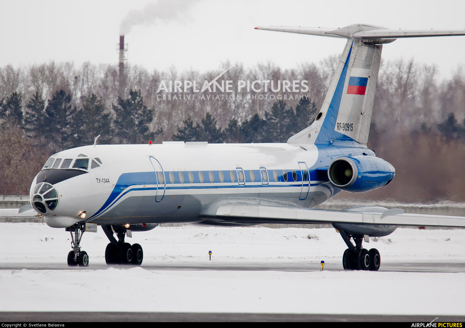 Russia - Air Force RF-90915 aircraft at Novosibirsk
