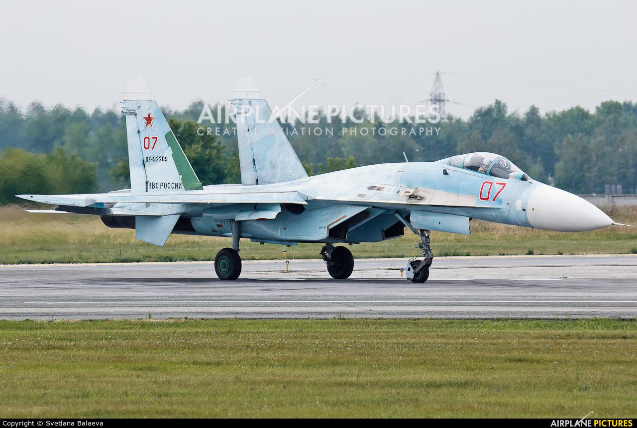 Russia - Air Force RF-92209 aircraft at Novosibirsk