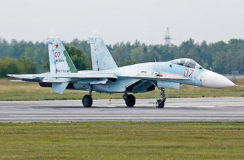 RF-92209 - Russia - Air Force Sukhoi Su-27SM