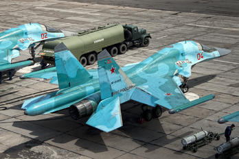 RF-95803 - Russia - Air Force Sukhoi Su-34