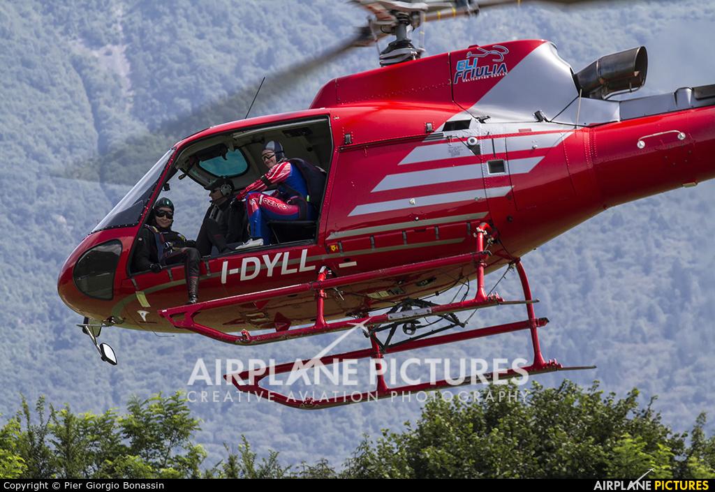 EADS - Agroaviation Services I-DYLL aircraft at Belluno - Arturo Dell