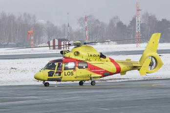 LN-OLN - Lufttransport Eurocopter AS365 Dauphin 2