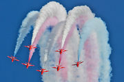 "XX227 - Royal Air Force ""Red Arrows"" British Aerospace Hawk T.1/ 1A aircraft"