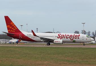 M-ABGX - SpiceJet Boeing 737-800