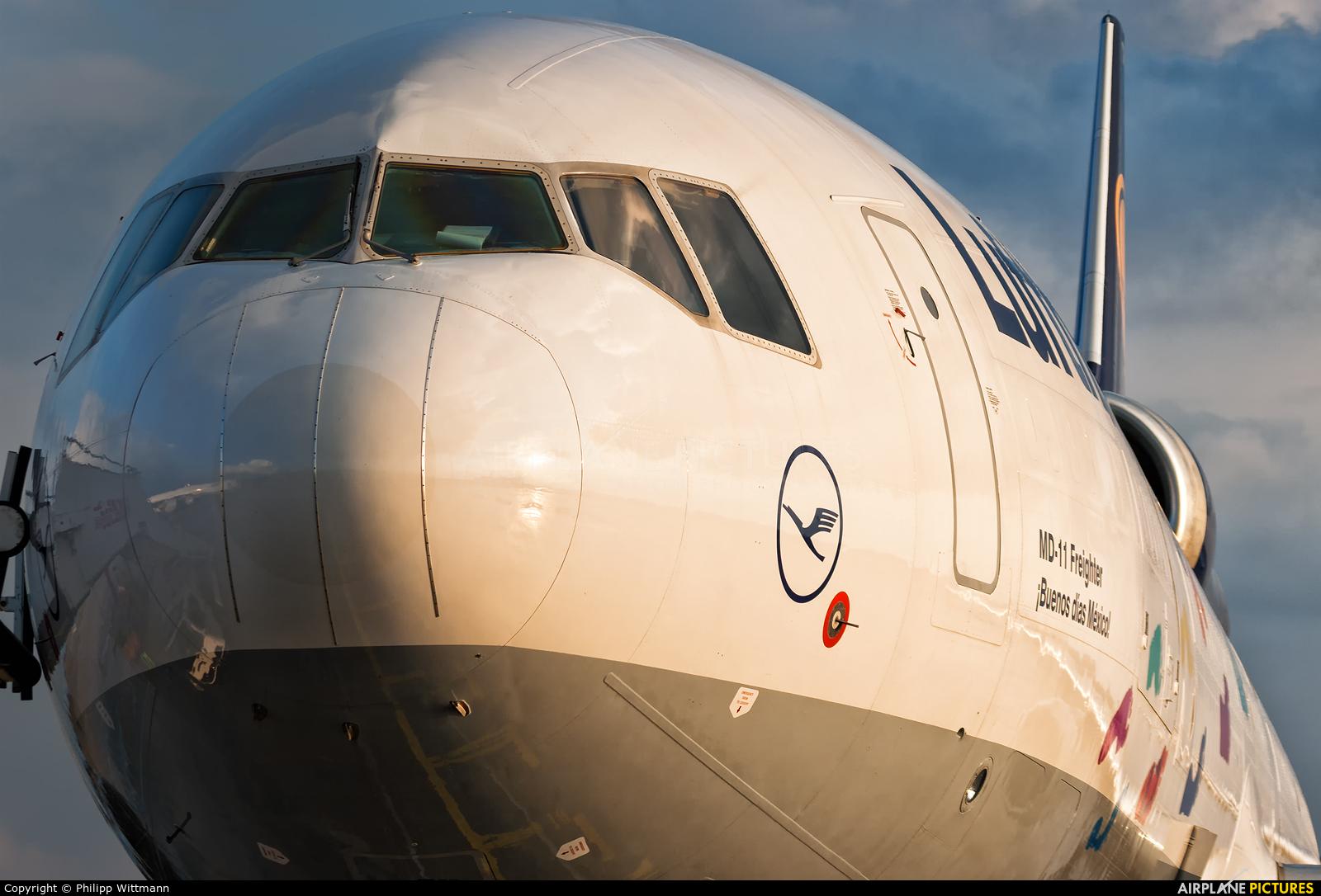 Lufthansa Cargo D-ALCH aircraft at