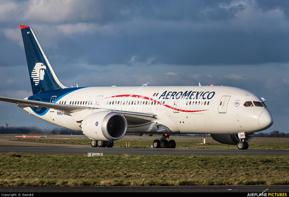 Aeromexico N967AM aircraft at Paris - Charles de Gaulle
