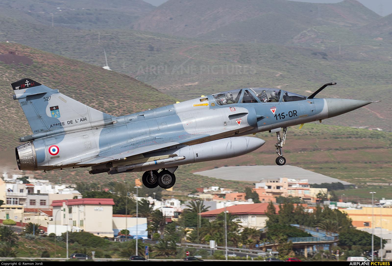 France - Air Force 527 aircraft at Las Palmas de Gran Canaria