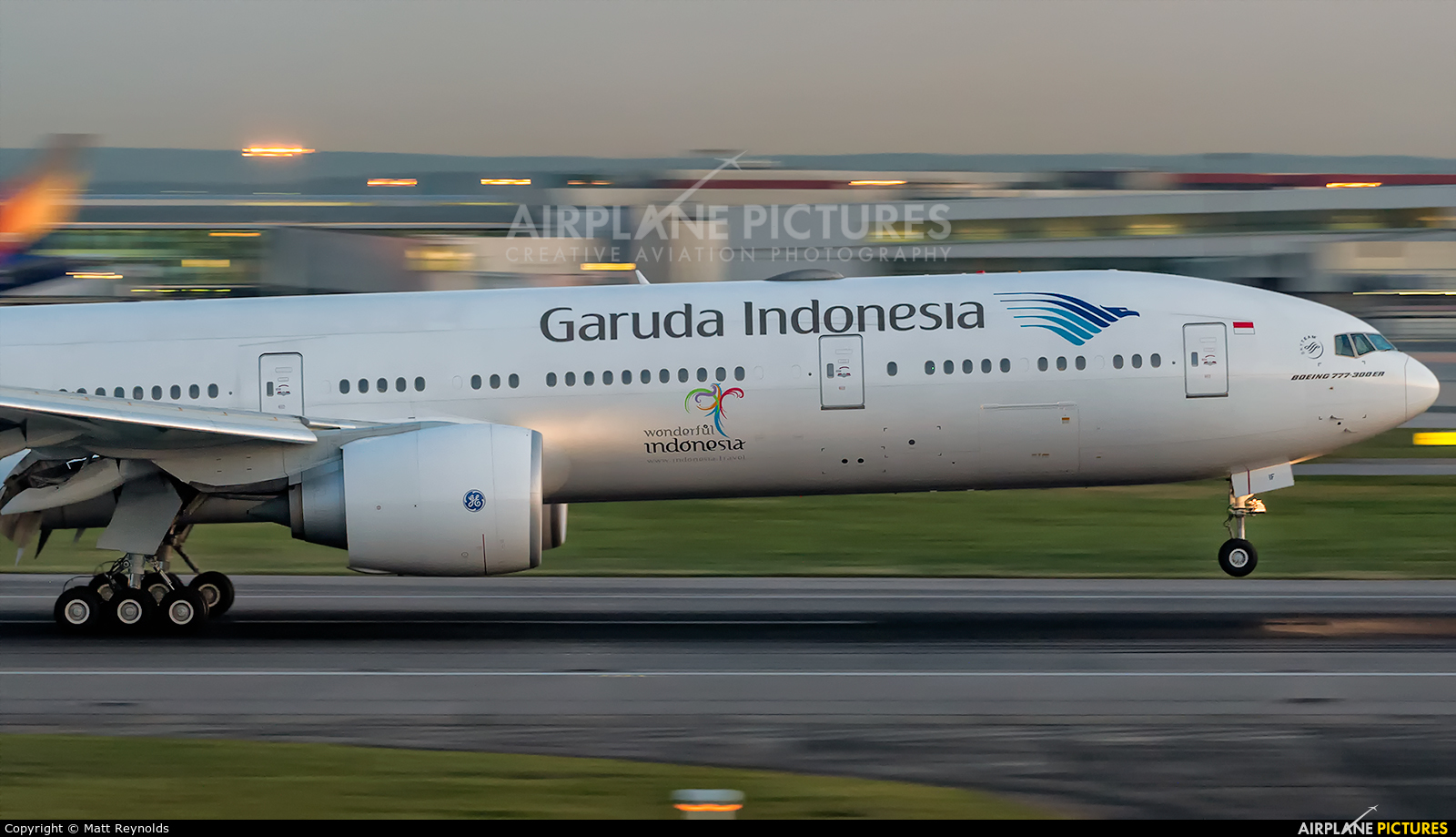 Garuda Indonesia PK-GIF aircraft at London - Heathrow