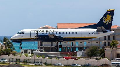 N343CJ - Seaborne Airlines SAAB 340