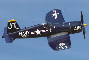N713JT - Private Vought F4U Corsair