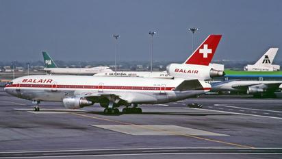 HB-IHK - Balair McDonnell Douglas DC-10-30