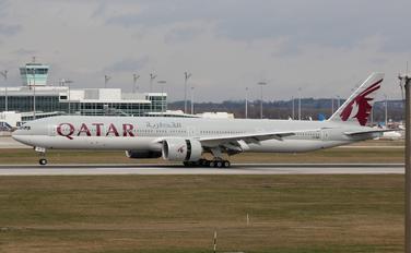 A7-BEI - Qatar Airways Boeing 777-300ER