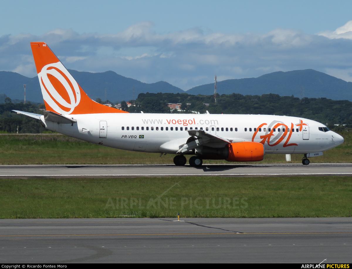 GOL Transportes Aéreos  PR-VBQ aircraft at Curitiba -  Afonso Pena