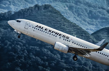 JA335J - JAL - Express Boeing 737-800