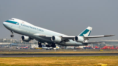 B-LJJ - Cathay Pacific Cargo Boeing 747-8F