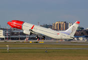 G-NRWY - Norwegian Air Shuttle Boeing 737-800 aircraft