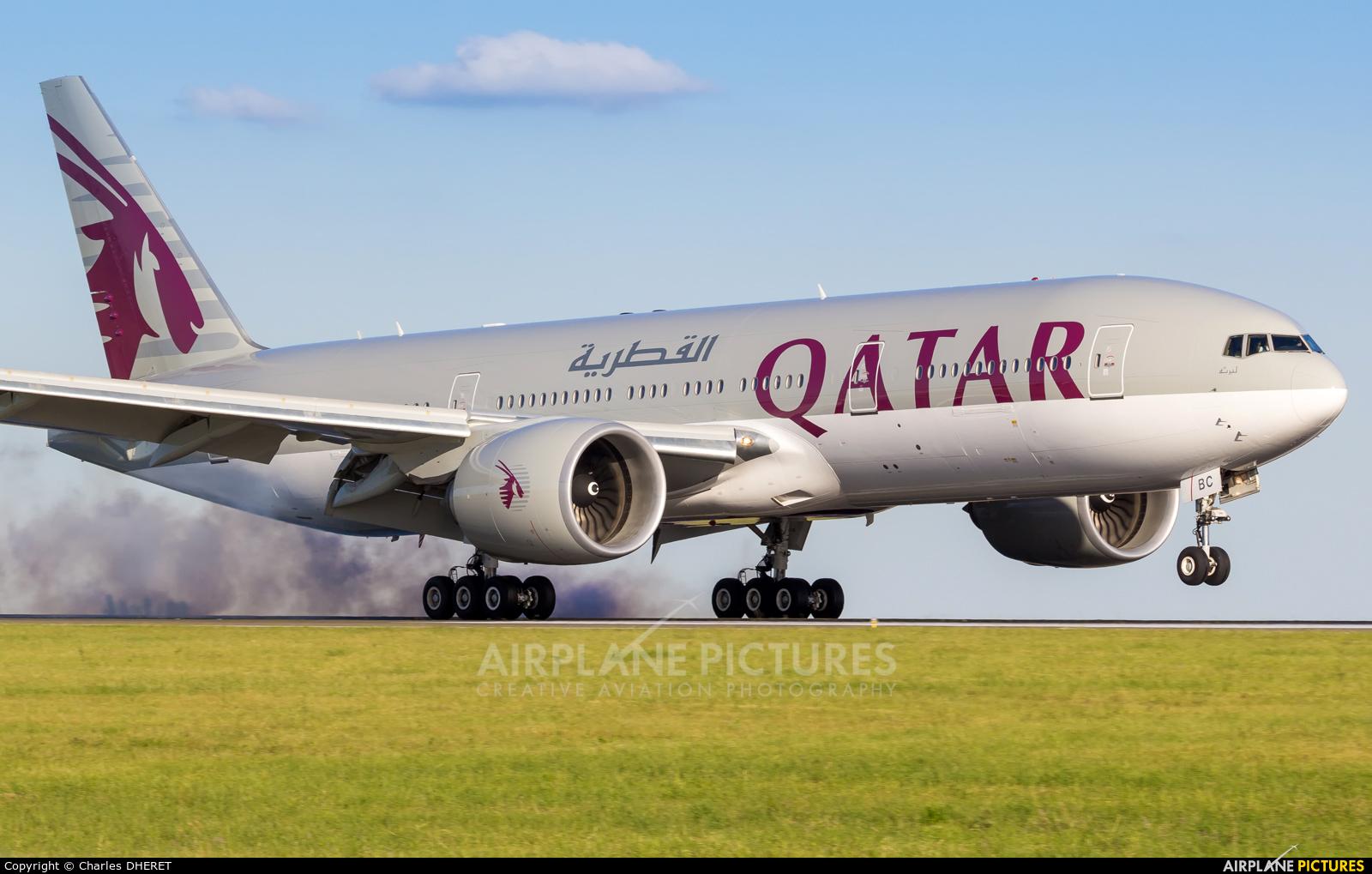 Qatar Airways A7-BBC aircraft at Paris - Charles de Gaulle