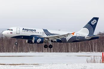 VP-BDN - Aurora Airbus A319