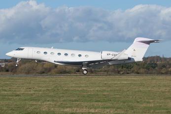 VP-CGN - Private Gulfstream Aerospace G650, G650ER
