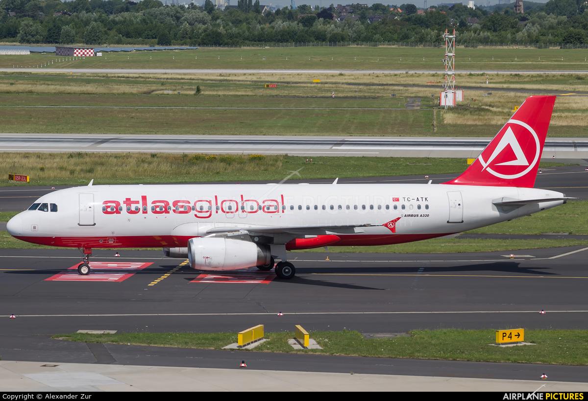 Atlasglobal TC-ATK aircraft at Düsseldorf