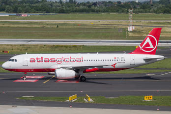 TC-ATK - Atlasglobal Airbus A320