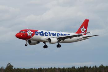 HB- IHZ - Edelweiss Airbus A320