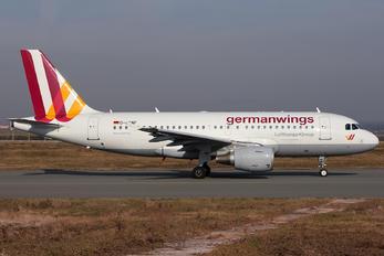 D-AKNF - Germanwings Airbus A319