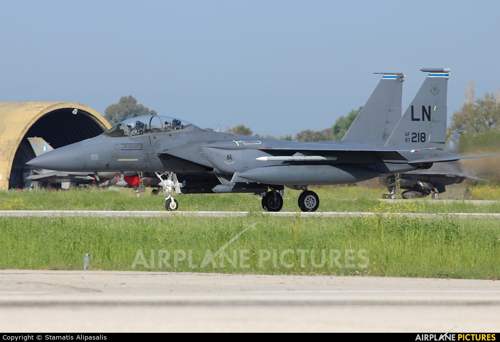 USA - Air Force 97-0218 aircraft at Andravida AB