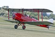 G-ACDC - The Tiger Club de Havilland DH. 82 Tiger Moth aircraft