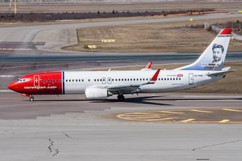 EI-FHR - Norwegian Air Shuttle Boeing 737-800