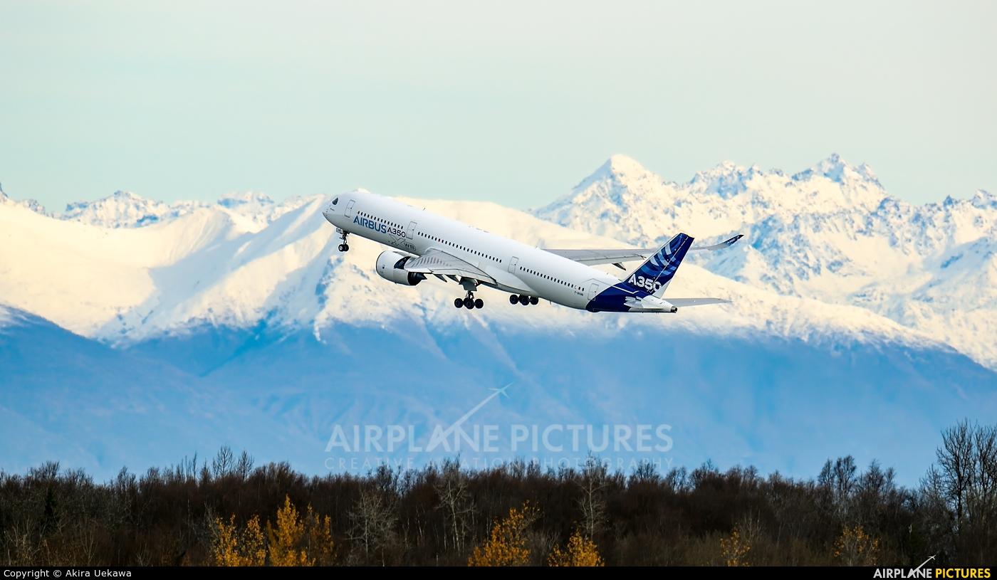 Airbus Industrie F-WXWB aircraft at Anchorage - Ted Stevens Intl / Kulis Air National Guard Base
