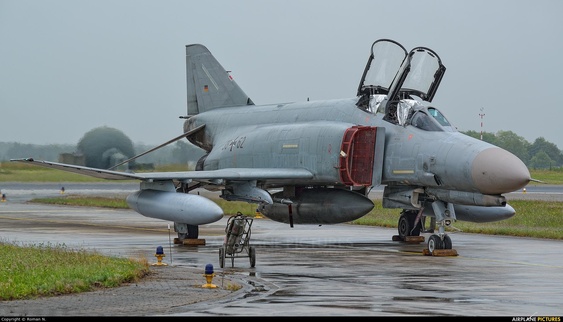 Germany - Air Force 38+62 aircraft at Wittmundhafen
