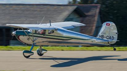 HB-CAD - Private Cessna 140