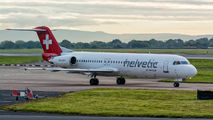 HB-JVC - Helvetic Airways Fokker 100 aircraft
