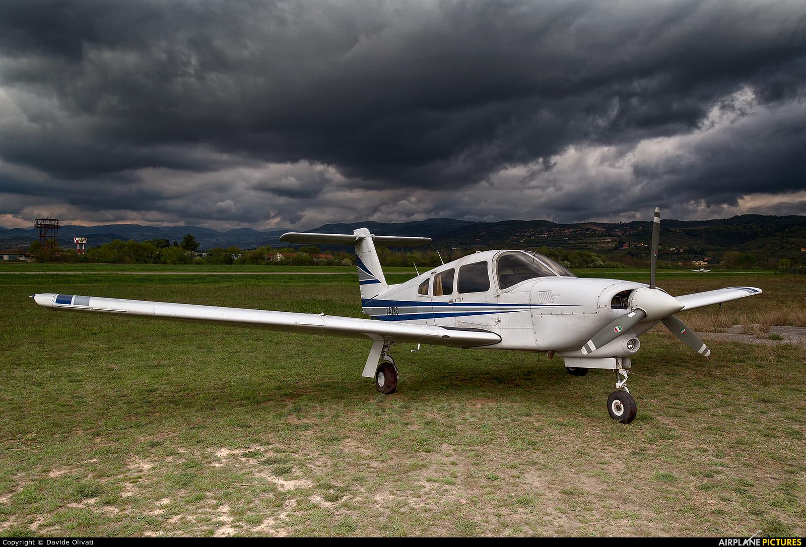 Private I-AZRO aircraft at Verona - Boscomantico