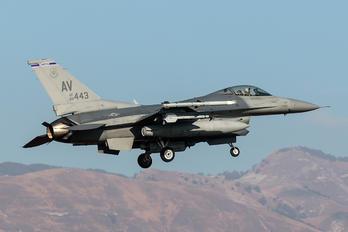 88-0443 - USA - Air Force General Dynamics F-16CG Night Falcon