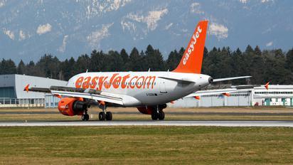 G-EZDB - easyJet Airbus A319