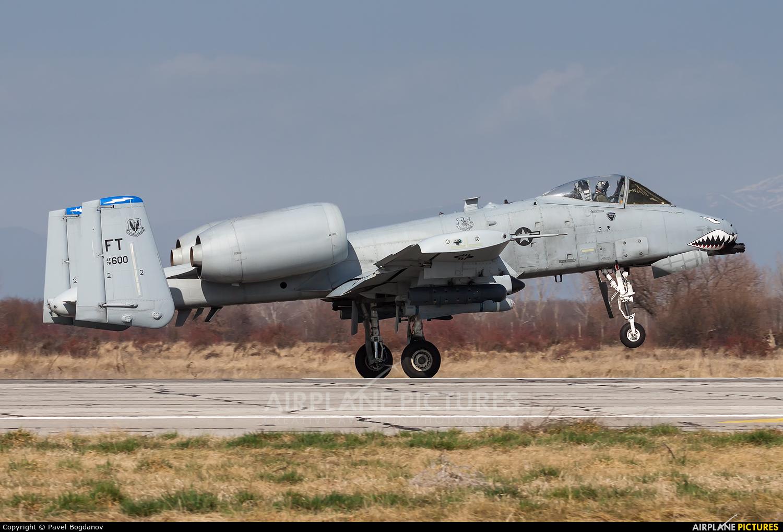 USA - Air Force 78-0600 aircraft at Graf Ignatievo