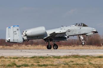 78-0600 - USA - Air Force Fairchild A-10 Thunderbolt II (all models)