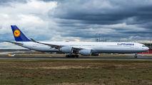 D-AIHX - Lufthansa Airbus A340-600 aircraft